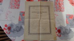 Diplome Du Certificat D'études Primaires Délivré Le 23/01/1917 à Beauvais (Oise) - Diploma & School Reports
