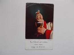 Devotieprent : Communion Solonnelle  De André STEYT , Collège St.Michel à Bruxelles 28 Mai 1959 - Communion