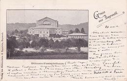 CPA - BAYREUTH - Bühnen Festspielhaus - Allemagne - Bayreuth