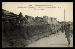 62 - Ablain-Saint-Nazaire - Vimy La Route De Souchez 630. La Grande Guerre 1914-15 #00009 - Autres Communes