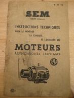 Sem Gent Techniek Plaatsen Werking Motoren Instructions Techniques Tweetalig - Pratique