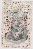 Image Religieuse Canivet  Avec Paillette  Quasi Palma Exaltata Sum - Devotion Images