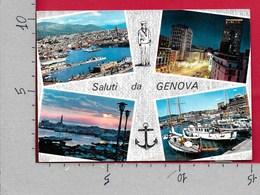 CARTOLINA VG ITALIA - Saluti Da GENOVA - Vedutine Multivue - 10 X 15 - ANN. 1965 - Saluti Da.../ Gruss Aus...