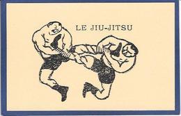 Image Cartonnée Jiu Jitsu Lutte Non Circulé Humour - Martiaux