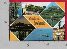 CARTOLINA VG ITALIA - Saluti Da CASTELGANDOLFO (ROMA) - Vedutine Multivue - 10 X 15 - ANN. 1989 - Saluti Da.../ Gruss Aus...