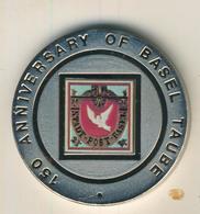 Republica De Guinea Ecuatorial,1000 Francos,1995,Silber,22gr., Kapsel, -- Stadt Post Basel  (54007) - Guinea