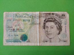 5 Pounds 1991/98 Pound - 1952-… : Elizabeth II