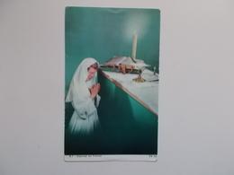 Devotieprent : Profession De Foi De Bernadette & Odette BOULANGER à Binche 27 Mai 1962 - Communion