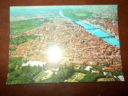 B698  Firenze Panorama Aereo Viaggiata - Firenze (Florence)