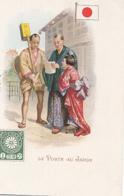 LA POSTE   AU JAPON                     PRECURSEUR - Postal Services