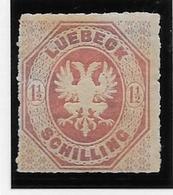 Luebeck N°14 - Neuf * Avec Charnière - TB - Luebeck