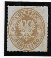 Luebeck N°12 - Aminci - Neuf * Avec Charnière - B - Luebeck