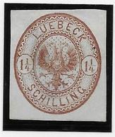 Luebeck N°13 - Aminci - Neuf * Avec Charnière - B - Luebeck