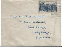 France 1946  Palais Du Luxembourg  (o) Yvert 760 (La France à L'Ecosse) - France