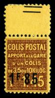 N°119, 1f85 Sur 1f45, Valeur Sur Valeur Sans Les Barres (sur Bord De Feuille). TB  Qualité: **  Cote: 350 Euros - Mint/Hinged