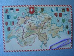 SUISSE : La Carte Avant 1906 - Switzerland