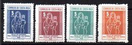 Serie  Nº 297/300  Costa Rica - Costa Rica