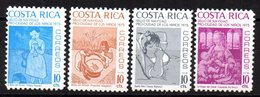 Serie  Nº 321/4  Costa Rica - Costa Rica