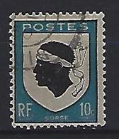France 1946  Armoiries: Corse  (o) Yvert 755a - France