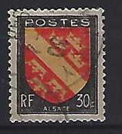 France 1946  Armoiries: Alsace  (o) Yvert 756 - France