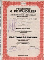 Woningbureau G. DE WANDELEER - Banque & Assurance
