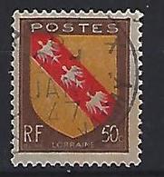 France 1946  Armoiries: Lorraine  (o) Yvert 757 - France