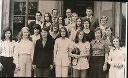 WIELSBEKE  1973 FOTO +- 14 X 10 CM - VOLLEYBALLERS - Wielsbeke