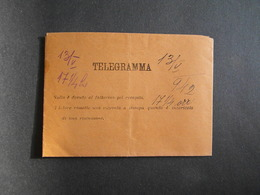 WW2 - ITALY - TELEGRAMMA - TOLLO CHIETI - TO TOLO CATTARO - 1942 - 9. Besetzung 2. WK (Italien)