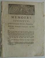 (63) Bourg-Lastic, Procès Concernant La Forge De Chavanon - Documents Historiques