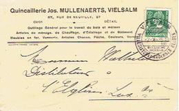 CP Publicitaire VIELSALM 1935 - Jos. MULLENAERTS - Quincaillerie - Vielsalm