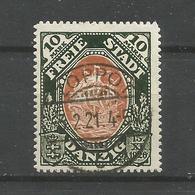 Danzig Mi.-Nr. 62 Gestempelt, Geprüft Infla - Danzig