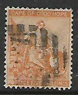 S.Africa, CoGH, 1887, 5/= Orange Used - South Africa (...-1961)