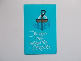 Devotieprent : Plechtige Communie & H. Vormsel Gwendolina DESMIT Oostende 6 Juni 1965 - Communion