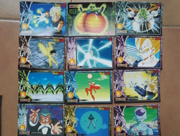 Lot 12 Cartes Neuve -Dragonball Z  - Serie 1 - Dragonball Z