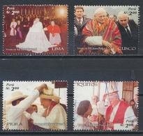 °°° PERU - Y&T N°1588/91/92/94 - 2006 °°° - Perù