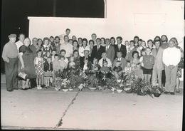 BOEKHOUTE   1973 FOTO +- 13 X 10 CM -  DIAMANTEN BRUILOFT - BUYSSELE - Assenede