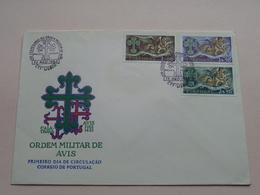 ORDEM MILITAR DE AVIS > ( Zie/voir Foto's Voor/pour Détails ) 13-AGO-1963 CTT Lisboa ! - FDC