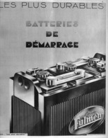 "PUB BATTERIE  ""  FULMEN   ""    1933 (1) - Other"