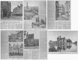 """PETITES VILLES DE FLANDRES Et D'ARTOIS  """" ARRAS  """"  1933 - Picardie - Nord-Pas-de-Calais"""