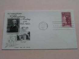 150th Anniversary THE PENNSYLVANIA ACADEMY Of The FINE ARTS / Jan 15 1955 Philadelphia ( See/zie/voir Photo ) ! - 1951-1960