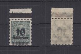 Deutsches Reich 336A W A OPD I C OR -/0'7'0 ** Postfrisch Signiert #RQ376 - Germany