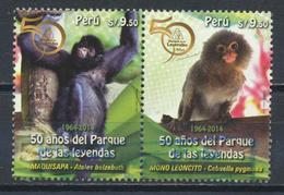 °°° PERU - Y&T N°2707/8 - 2014 °°° - Perù