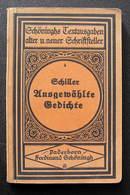 German Book / Ausgewählte Gedichte Von Friedrich Von Schiller - Bücher, Zeitschriften, Comics