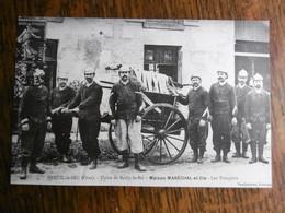 D 60 - Breuil Le Sec - Usine De Bailly Le Bel - Maison Marechal & Cie - Les Pompiers - Reproduction - Autres Communes