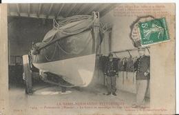 CPA - 50 - Fermanville - Canot De Sauvetage - Animée - Frankreich