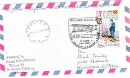 AUSTRIA   LUFTPOST WIEN - KRAKAO-LEMBERG-KIEW 1998 - Austria