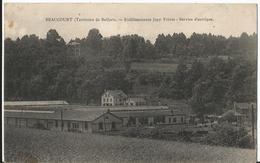 CPA - 90 - Beaucourt - Etablissements Japy Freres - Service éléctrique - Beaucourt