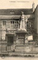 Cpa De Bourges... ..statue De Jacques Coeur - Bourges