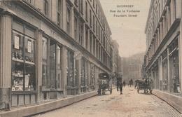 GUERNSEY--FOUNTAIN STREET-VOIR SCANNER - Autres