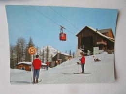 Monetier Les Bains. Club Mediterranee. Intercolor Trimboli 173 Postmarked 1964 - France
